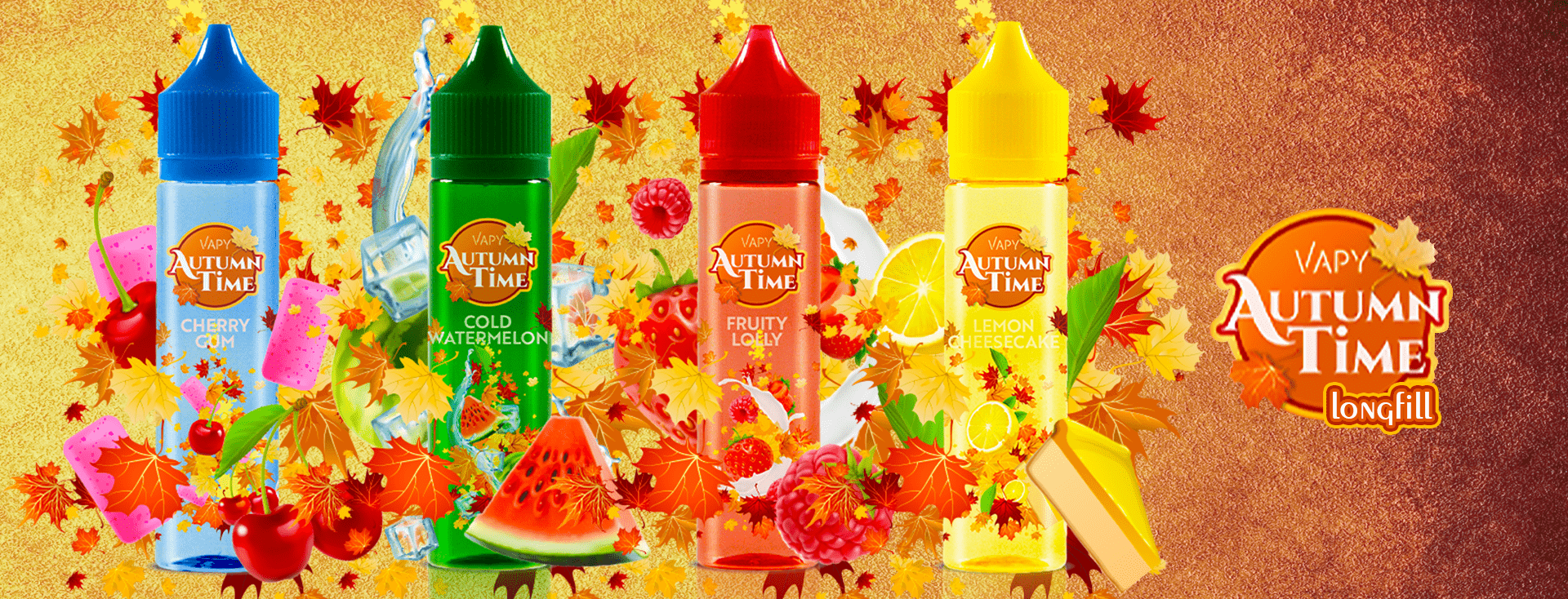 Vapy Autumn Time Longfill