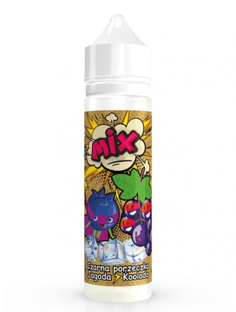 MIX - Czarna Porzeczka Jagoda Koolada 40ml /Aromat do tytoniu/