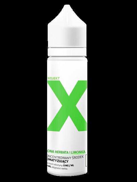 Projekt X - Zielona Herbata i Limonka + 2x SHOT GRATIS(Tylko HURT)