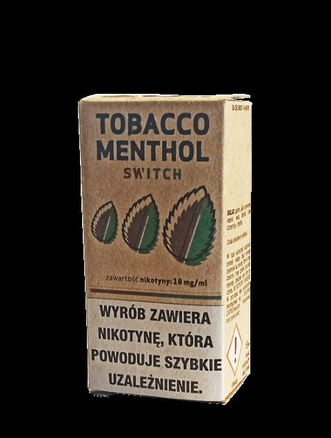 Switch Tobacco Menthol Liquid 10ml