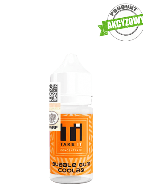 Take It Longfill Premix - Bubble Gum Coolad 10ml