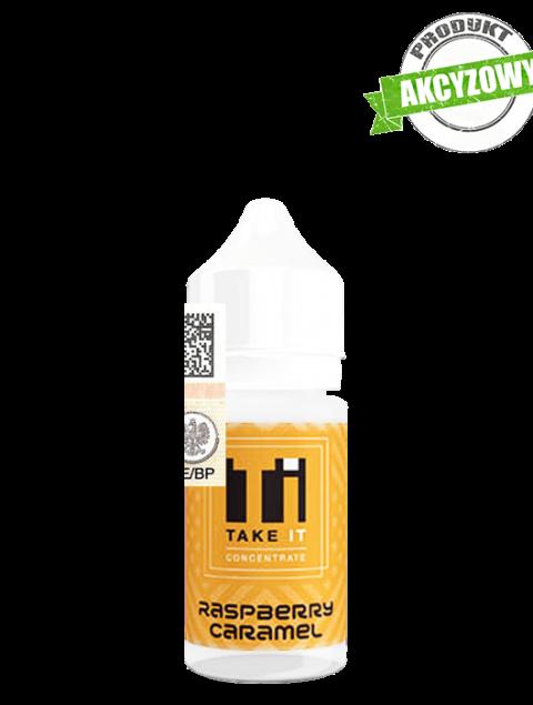 Take It Longfill Premix - Raspberry Caramel 10ml